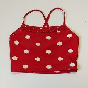 Hanna Andersson Red Polka Dot Size 220